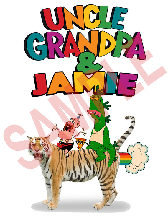 570x738 Custom Personalized Uncle Grandpa Shirt Party Favor Uncle