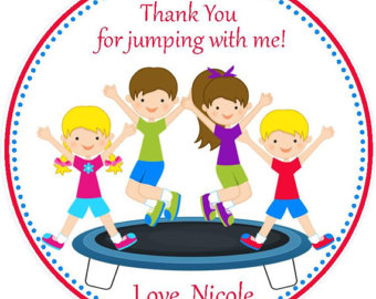 340x270 Trampoline Party Etsy