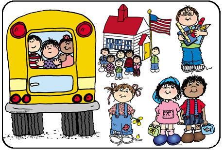 459x310 Clip Art School Days Kids