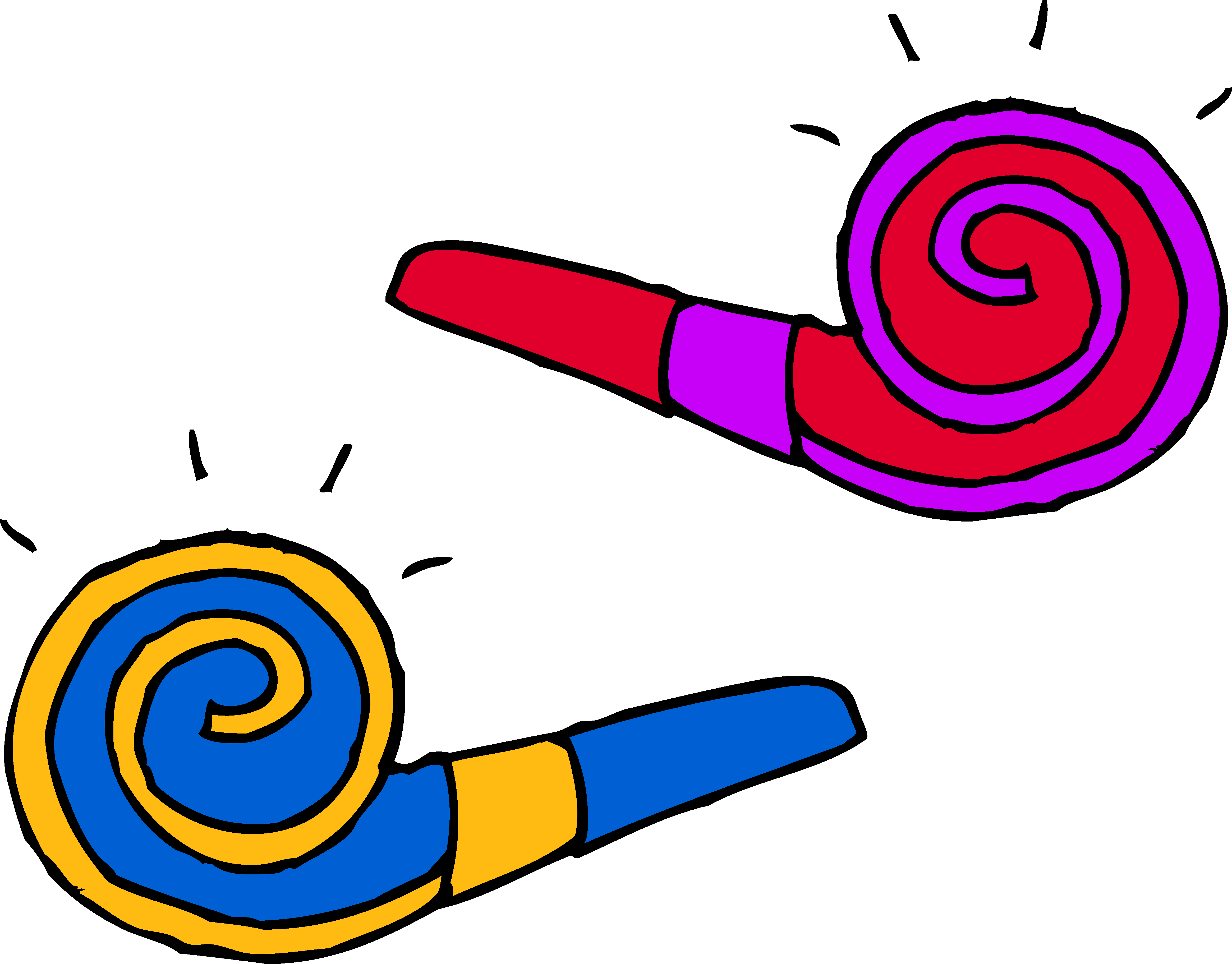 4660x3647 Party Clipart Party Horn