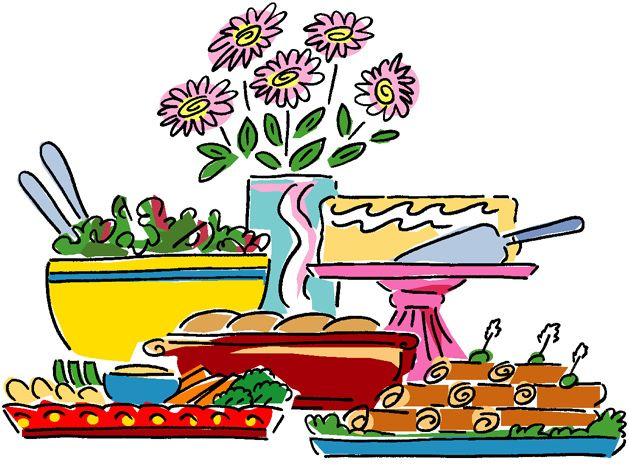 629x464 Clip Art Party Food