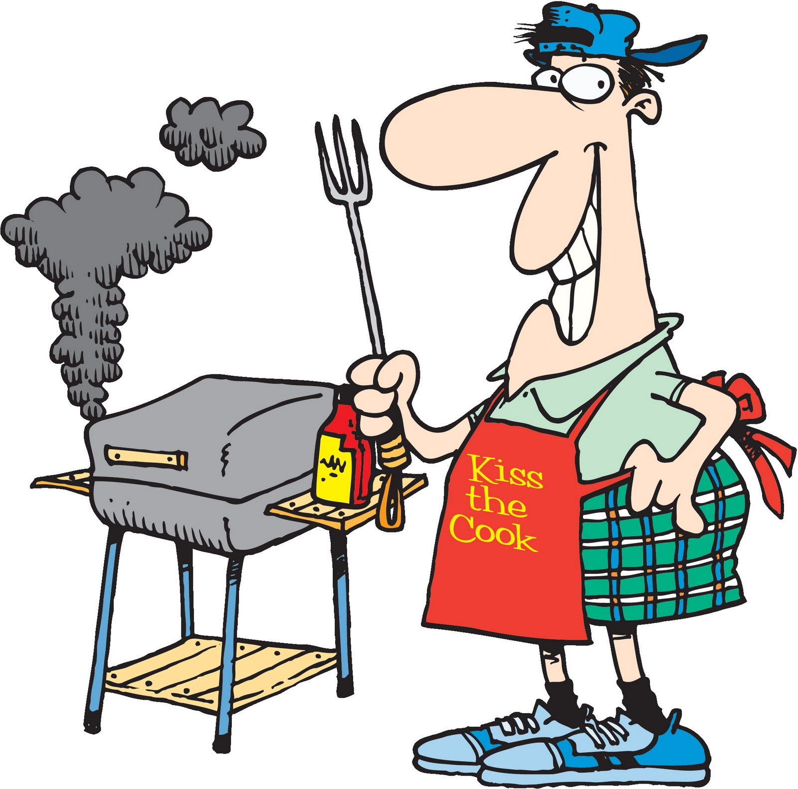 1600x1581 Free Bbq Food Clipart