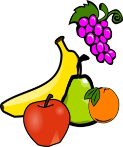252x300 Fruit Clipart Party