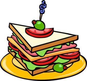 333x307 Party Food Clipart Free Food Clipart