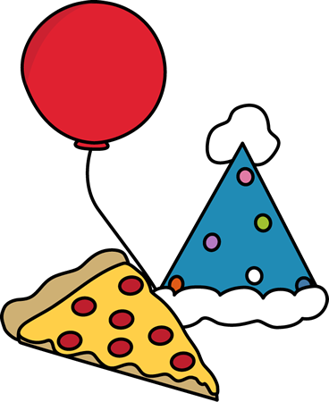 368x450 Pizza Party Clip Art