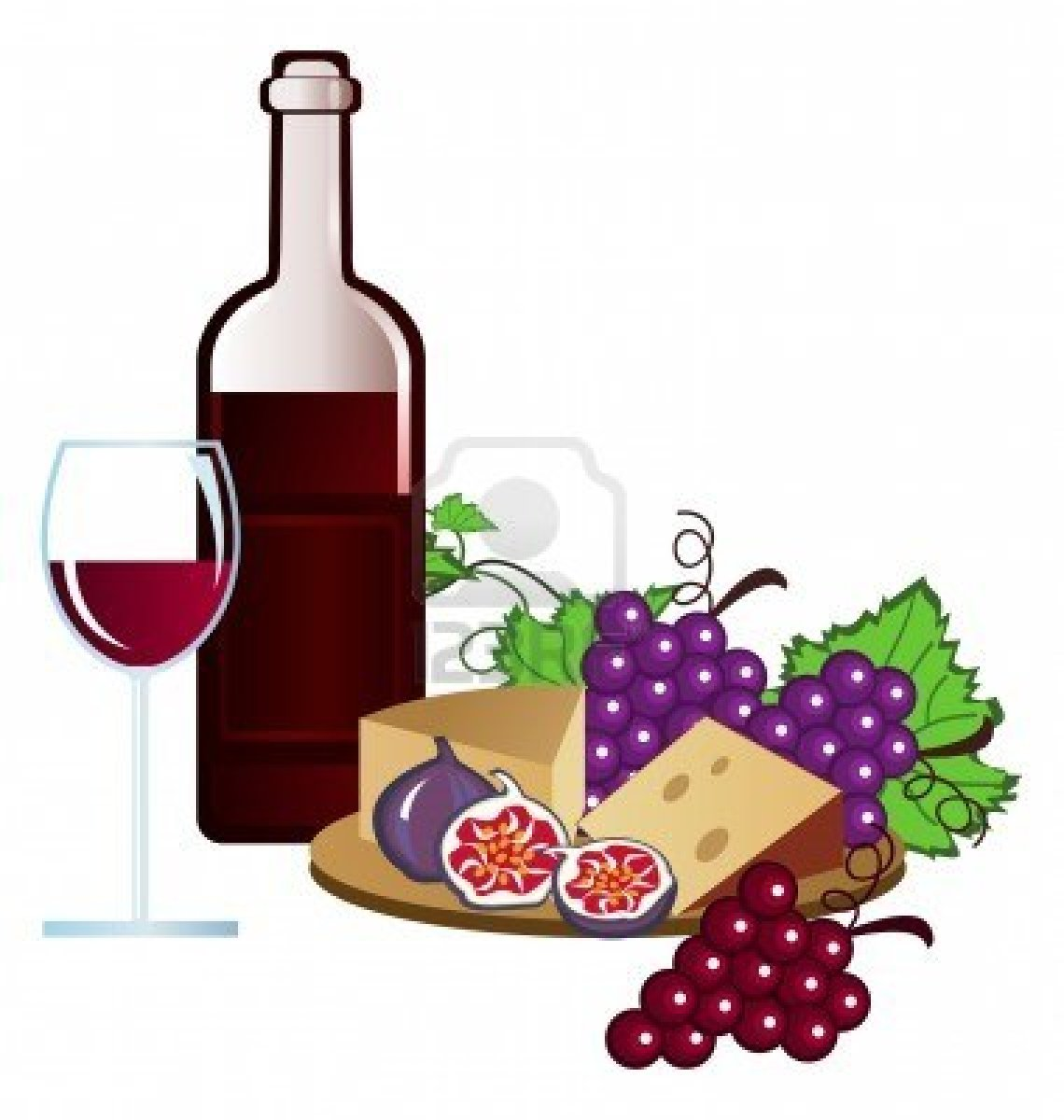 1140x1200 Wine And Cheese Clip Art