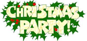 336x160 Clip Art Staff Christmas Party Clipart