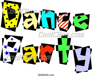 300x248 Dance Party Clipart