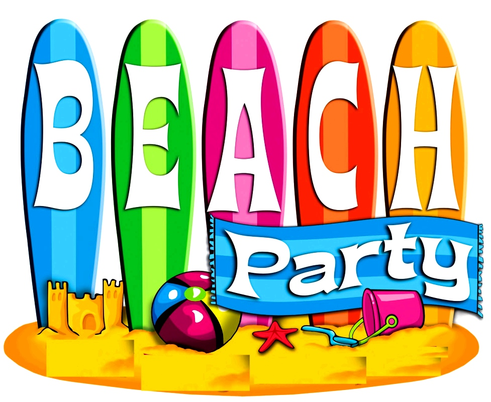 977x800 Beach Clipart Beach Party