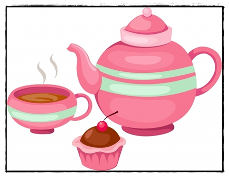 453x350 Tea Party Images Clip Art Many Interesting Cliparts