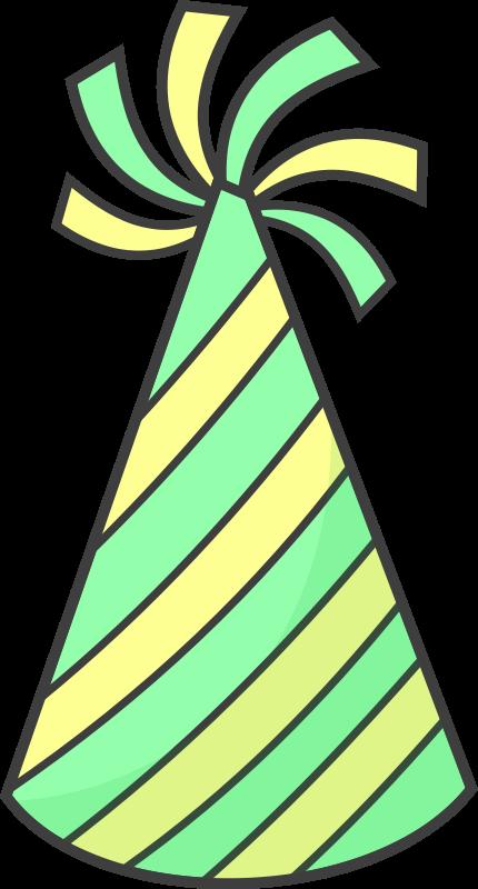 430x800 Best Birthday Hat Clipart