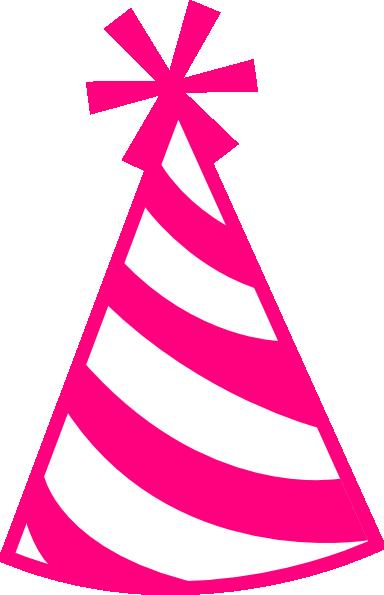 384x595 Pink Hat Clip Art