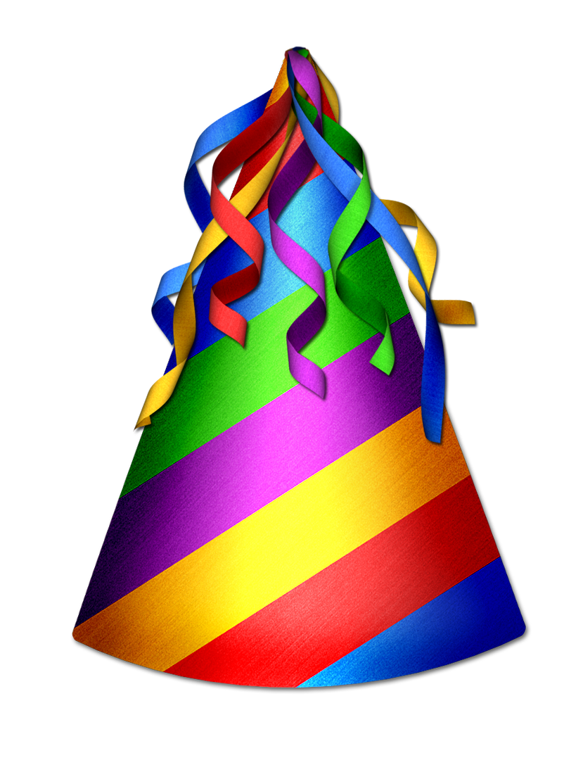 829x1087 Best Birthday Hat Png