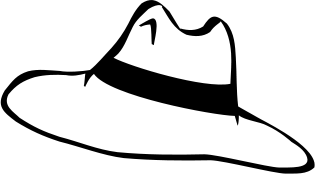 315x174 Hat Black And White Party Hat Clip Art Black And White Free