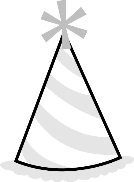 438x594 Party Hat Clip Art
