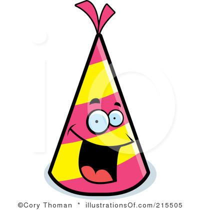 400x420 Triangle Clipart Party Hat