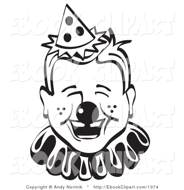 600x620 Vector Cliprt Of Blacknd White Jolly Freckled Boy