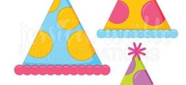272x125 Black And White Party Hat Clipart Clipart Panda