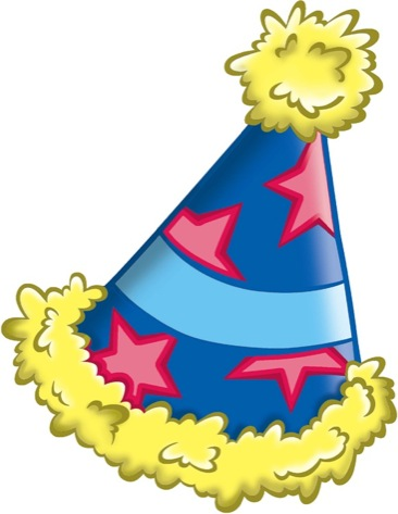 366x473 Happy Birthday Hat Clipart