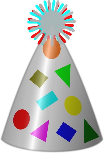 408x599 Birthday Hat Clip Art