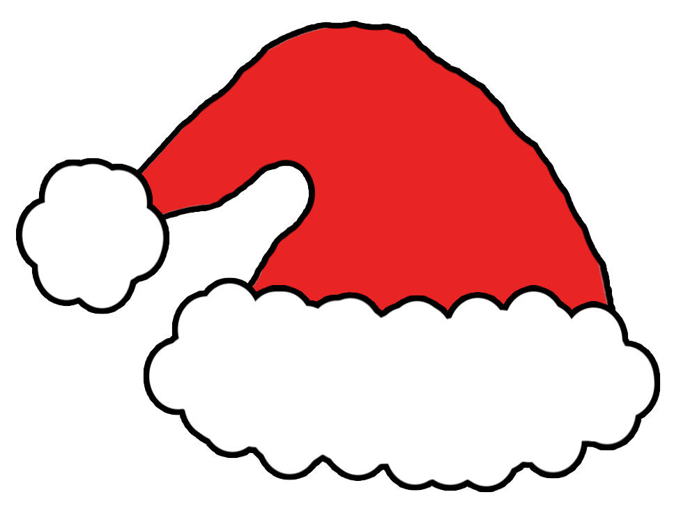 967x726 Santa Hat Clipart Transparent Background