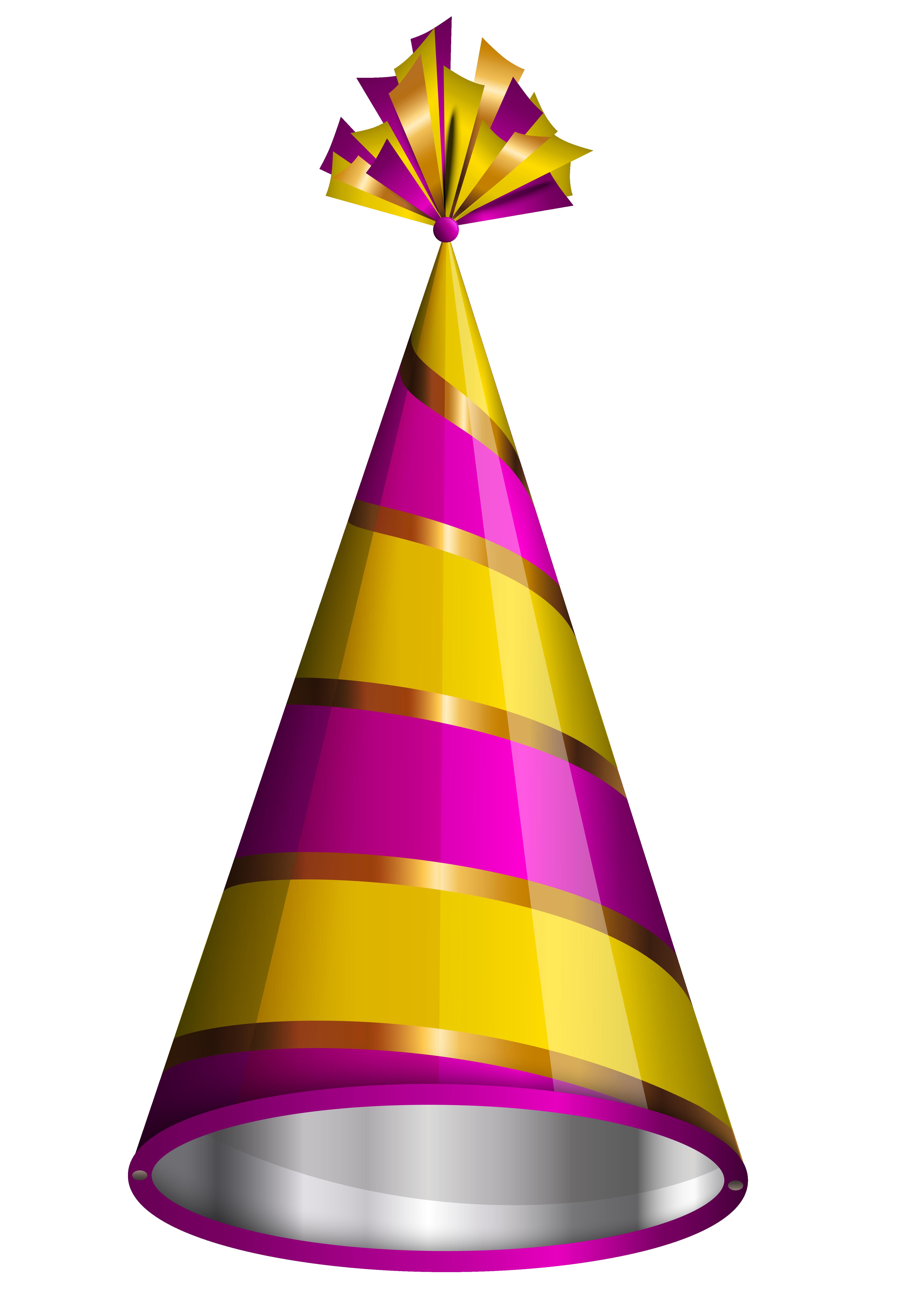 4563x6393 Birthday Hat Birthday Party Hat Clipart Image
