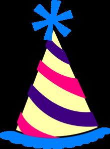219x297 Clipart Birthday Hat