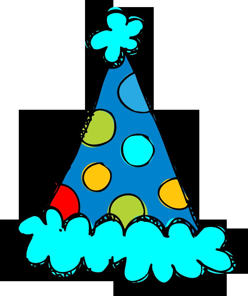 805x960 Birthday Hat Clip Art