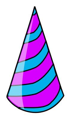 239x394 Clipart Party Hat