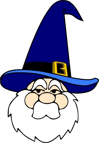 414x596 Wizard In Blue Hat Clip Art Free Vector In Open Office Drawing Svg