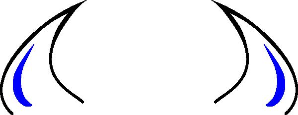 600x232 Devil Horn Clipart