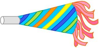 340x165 Party Horn Clip Art Clipart Panda