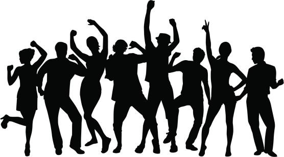 556x308 Clipart People Dancing