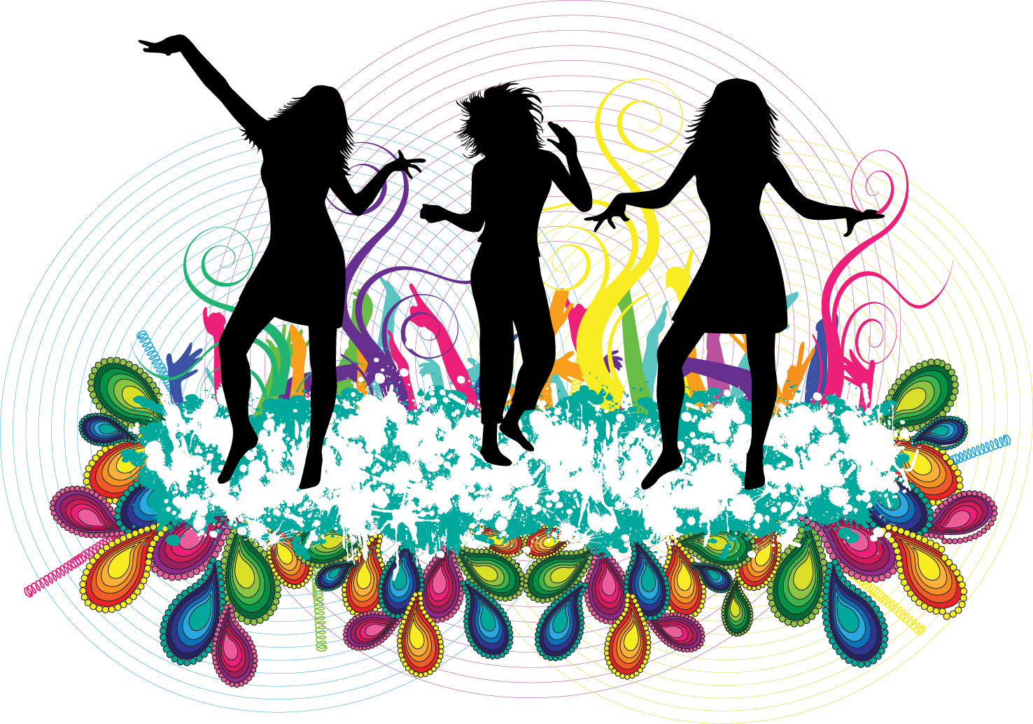 1476x1034 Background Clipart Dance Party
