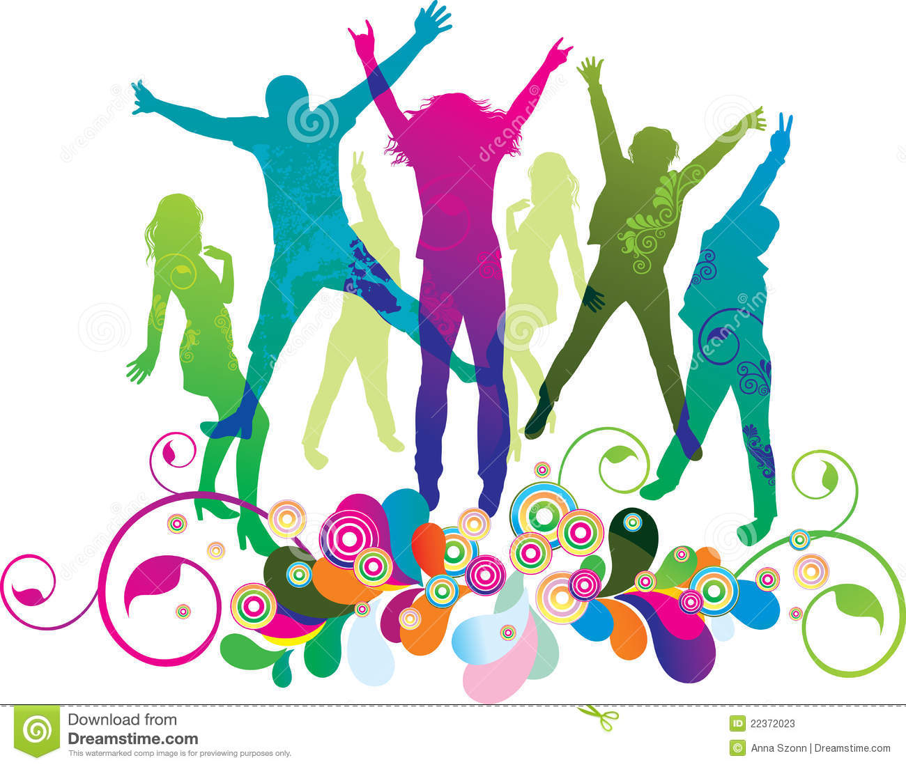 1300x1101 Party Clipart Dancing