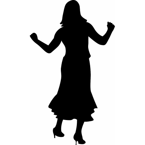 500x500 Free Downloadable Clipart People Dancing