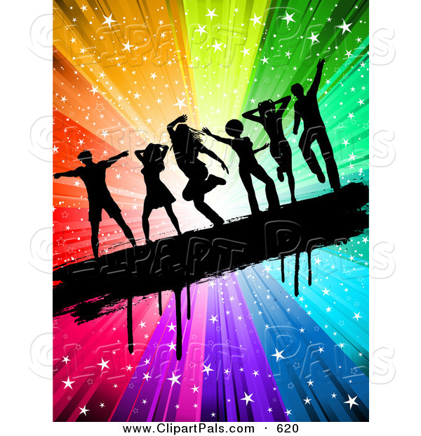 600x620 Royalty Free Dance Party Stock Friend Designs