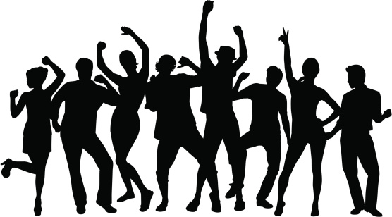 556x308 Clipart Of People Dancing