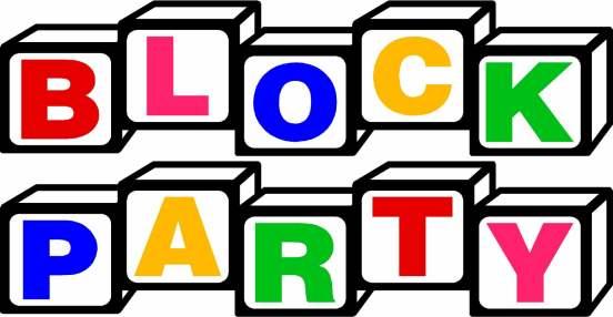 552x286 Clip Art Neighborhood Party Clipart
