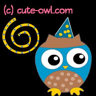 313x313 Cute Owl Free Clip Art