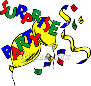 300x283 Free Surprise Birthday Party Clip Art