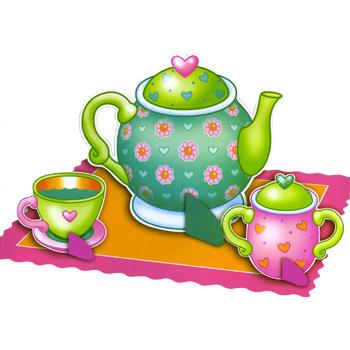 350x350 Tea Party Clipart
