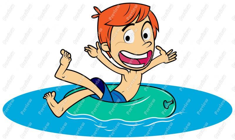 800x475 Boy Child Swimming Clip Art