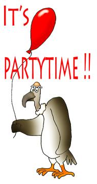 190x360 Party Clip Art