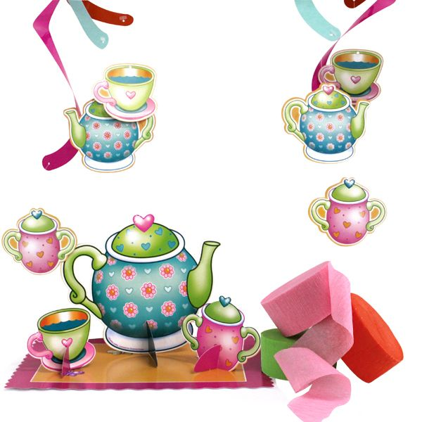 600x600 Tea Party Clipart Afternoon Tea