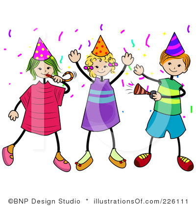 400x420 Party Clipart Free