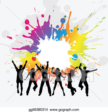 450x470 Party People Clip Art