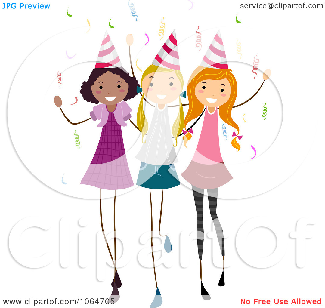 1080x1024 Party Girl Clipart