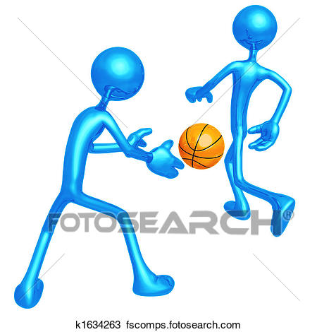 450x470 Drawing Of Basketball Back Pass K1634263
