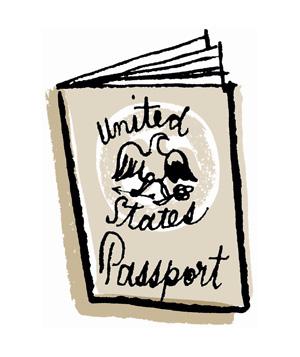 300x357 Passport Clip Art Free Clipart Images 2
